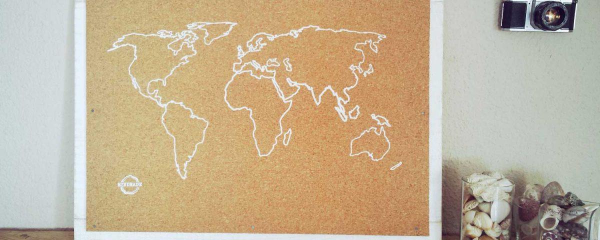 Cmo hacer un mapamundi virtual para saber dnde has viajado