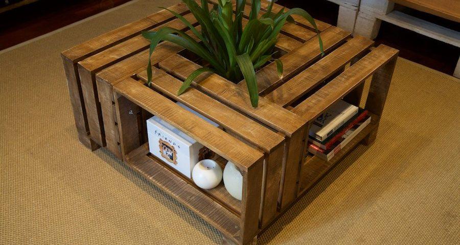 cmo construir una mesa original para tu saln con palets - Mesa Con Palets