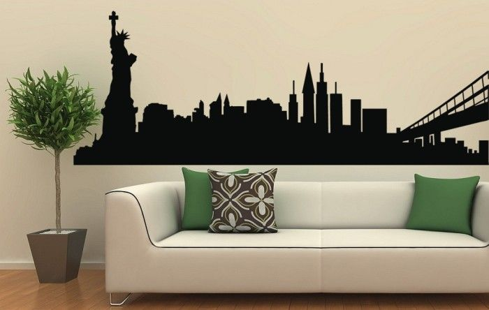 C mo decorar con vinilos decorativos tu hogar foro - Salones con vinilos decorativos ...