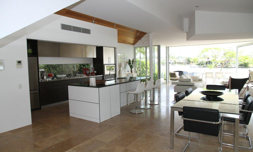 cocinas integradas en el salón